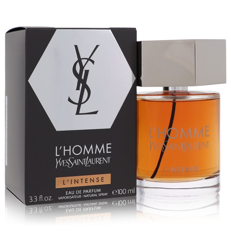 L'homme Intense Cologne by Yves Saint Laurent 3.3 oz EDP Spay for Men