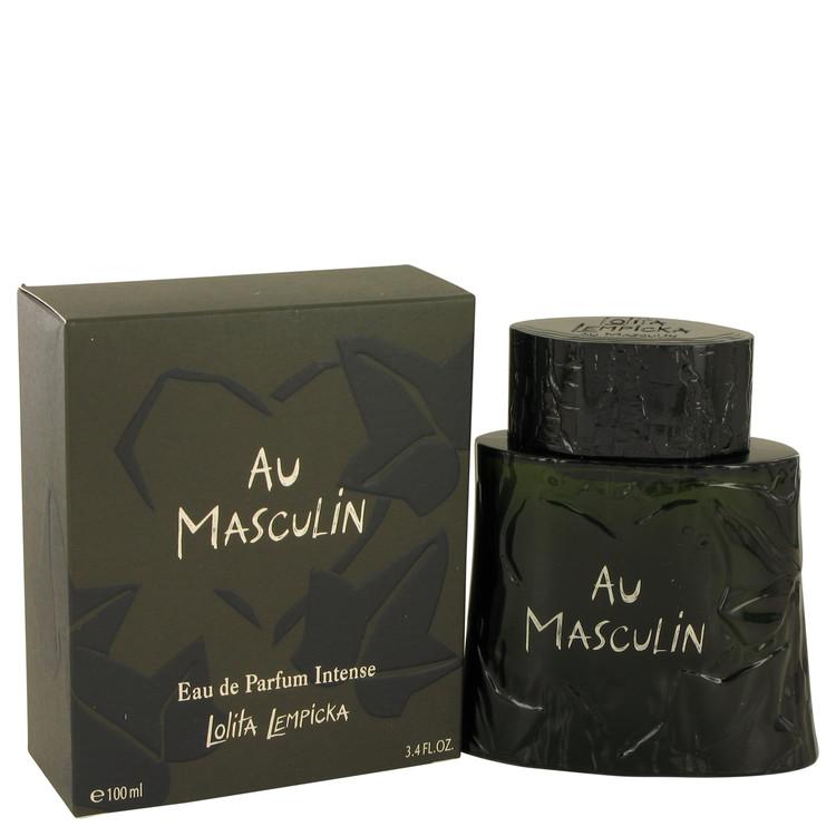 Lolita Lempicka Au Masculin Intense Cologne 100 ml EDP Spay for Men