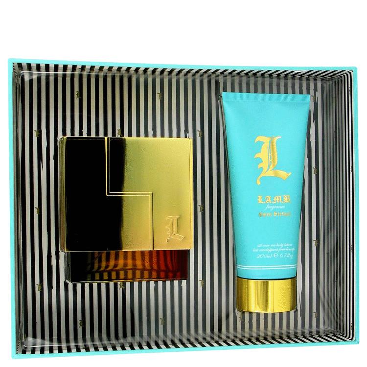 L Lamb Gift Set -- Gift Set - 1.7 oz Eau De Parfum Spray + 6.7 oz Body Lotion for Women