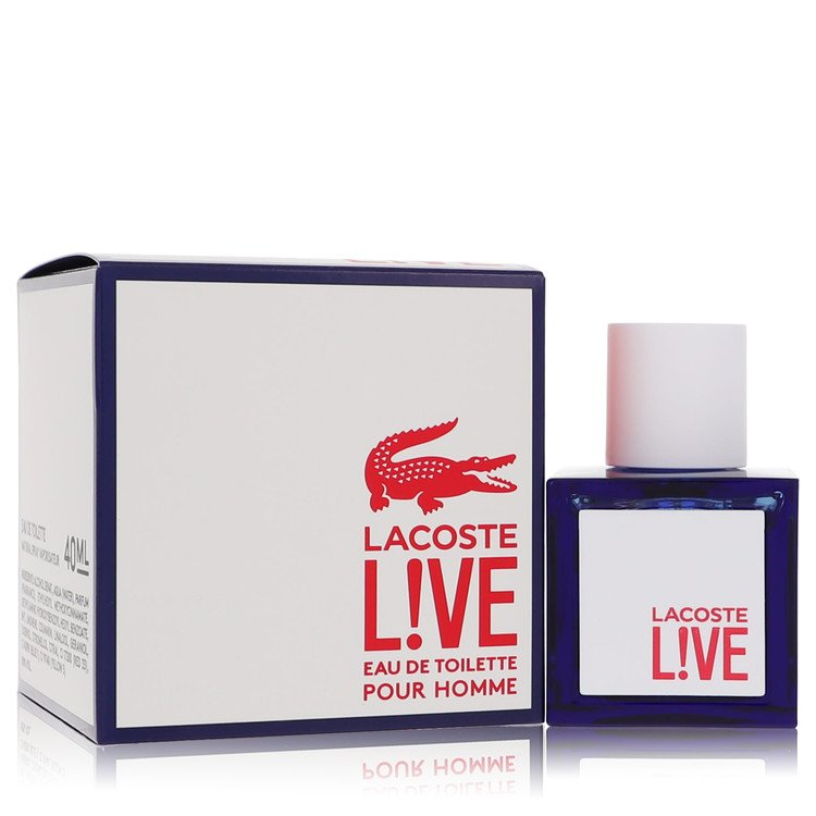 Lacoste Live by Lacoste Men's Eau De Toilette Spray 1.3 oz