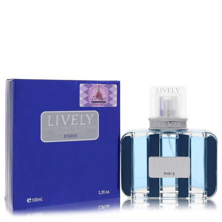 Lively by Parfums Lively for Men Eau De Toilette Spray 3.4 oz