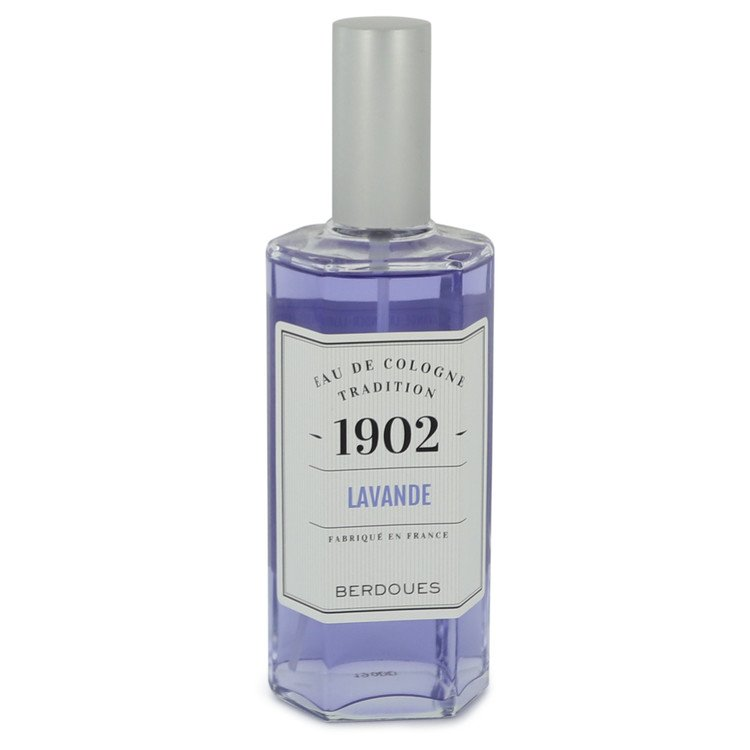 1902 Lavender by Berdoues Eau De Cologne Spray (Tester) 4.25 oz