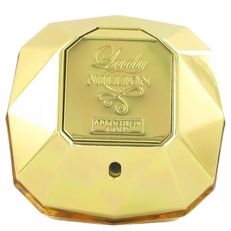 Lady Million Absolutely Gold Perfume 2.7 oz EDP Spray (unboxed) for Women