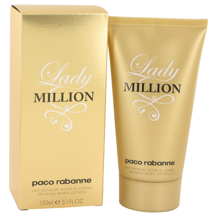 Lady Million Body Lotion by Paco Rabanne 5.1 oz Body Lotion for Women