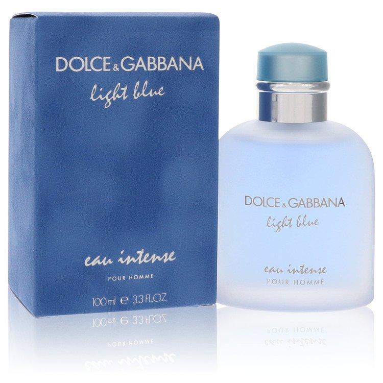Light Blue Eau Intense Cologne 3.3 oz EDP Spay for Men
