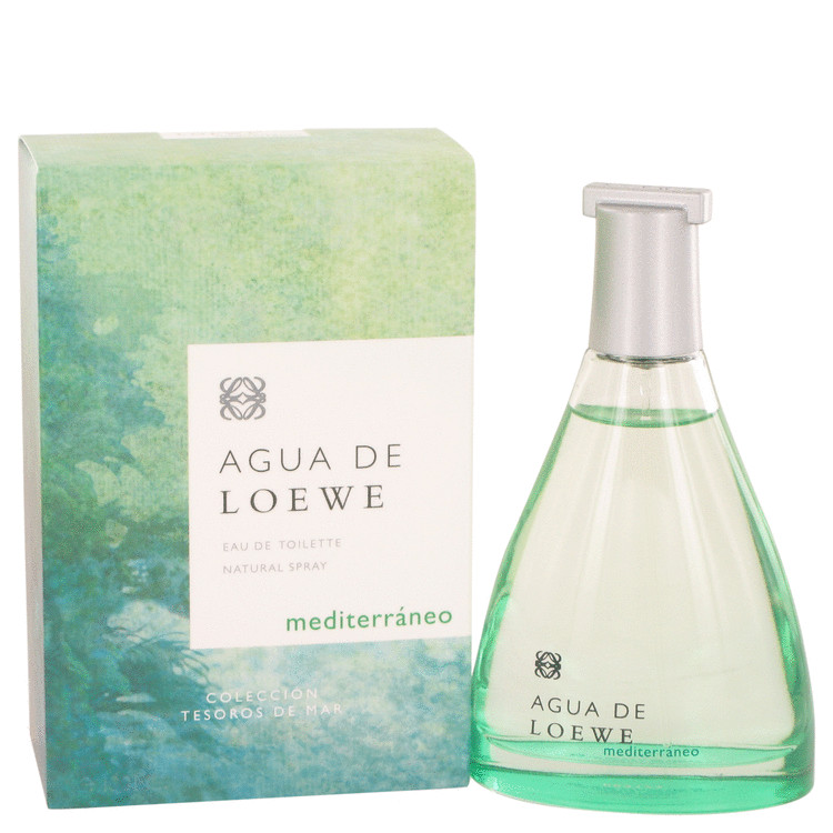 Agua Mediterraneo Perfume by Loewe 3.4 oz EDT Spay for Women