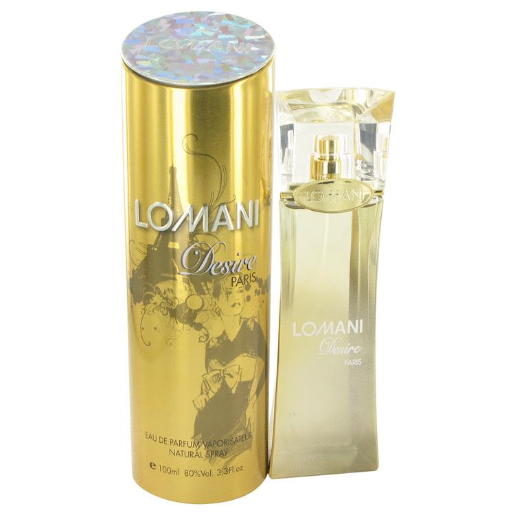 Lomani Desire Perfume by Lomani 100 ml Eau De Parfum Spray for Women