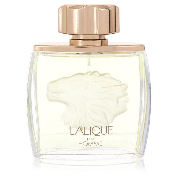 Lalique Cologne 2.5 oz EDP Spray (Lion Tester) for Men