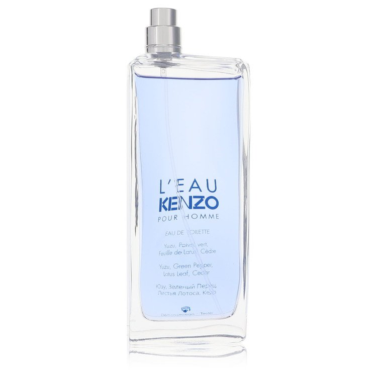 L'eau Par Kenzo Cologne by Kenzo 3.4 oz EDT Spray(Tester) for Men