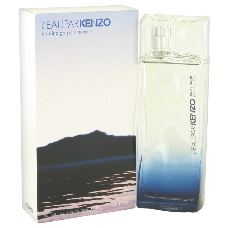 L'eau Par Kenzo Eau Indigo Cologne by Kenzo 100 ml EDT Spay for Men