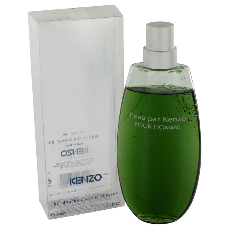 L'eau Par Kenzo Shower Gel by Kenzo 6.7 oz Shower Gel for Men