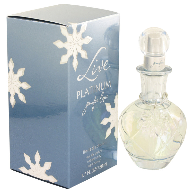 Live Platinum Perfume by Jennifer Lopez 50 ml EDP Spay for Women
