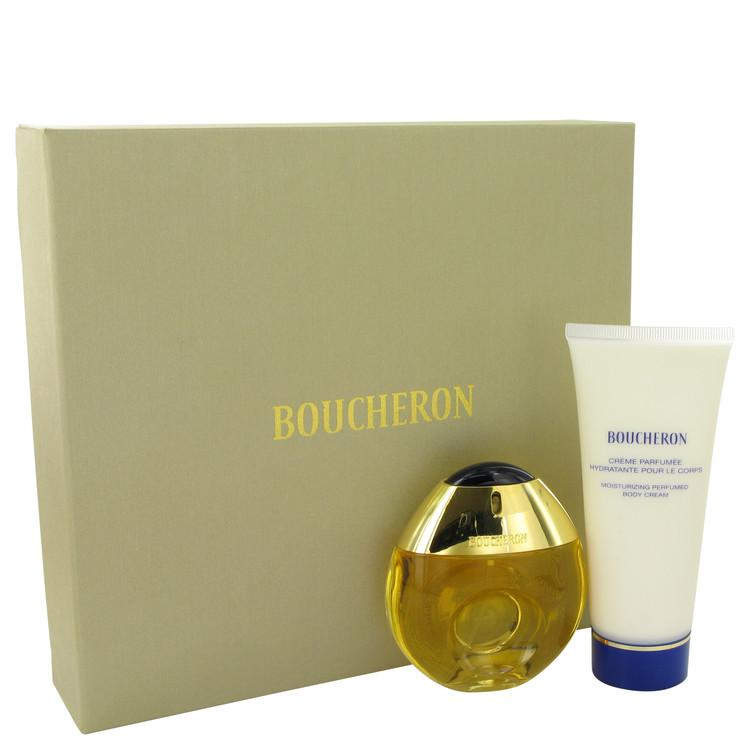 Boucheron by Boucheron Women's Gift Set -- 1.6 oz Eau De Toilette Spray + 3.4 oz Body Cream
