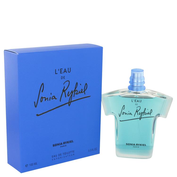 L'eau D' Sonia Rykiel Perfume 100 ml Eau De Toilette Spray (Blue) for Women