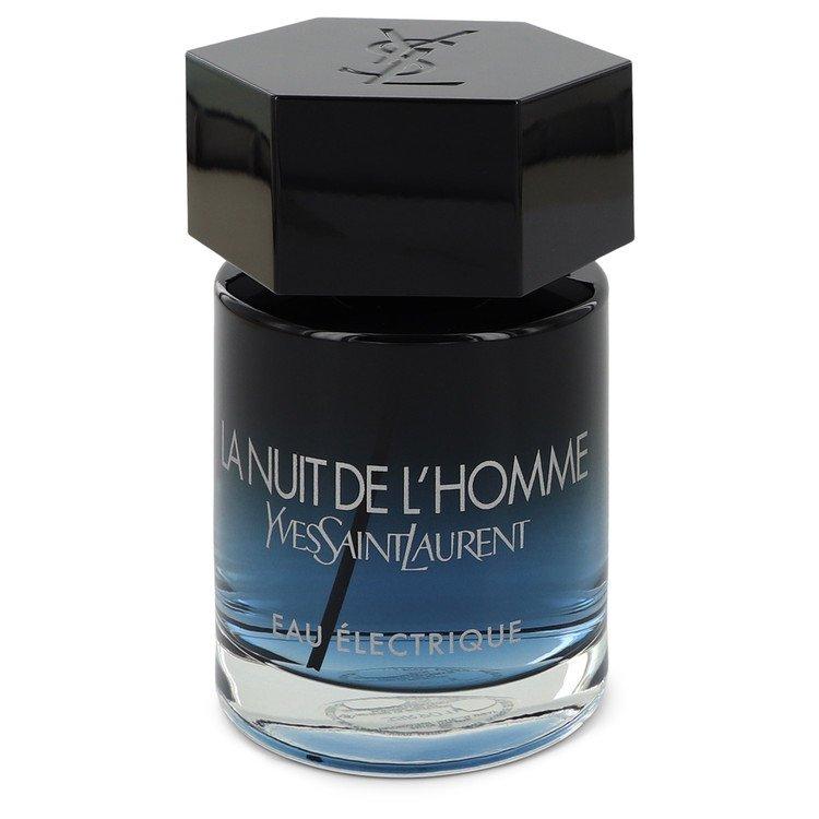 La Nuit De L'homme Eau Electrique by Yves Saint Laurent Men's Eau De Toilette Spray (unboxed) 3.3 oz