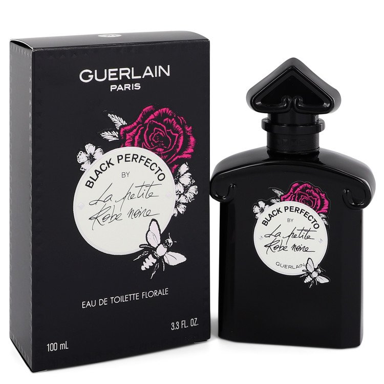 La Petite Robe Noire Black Perfecto by Guerlain Women's Eau De Toilette Florale Spray 3.3 oz