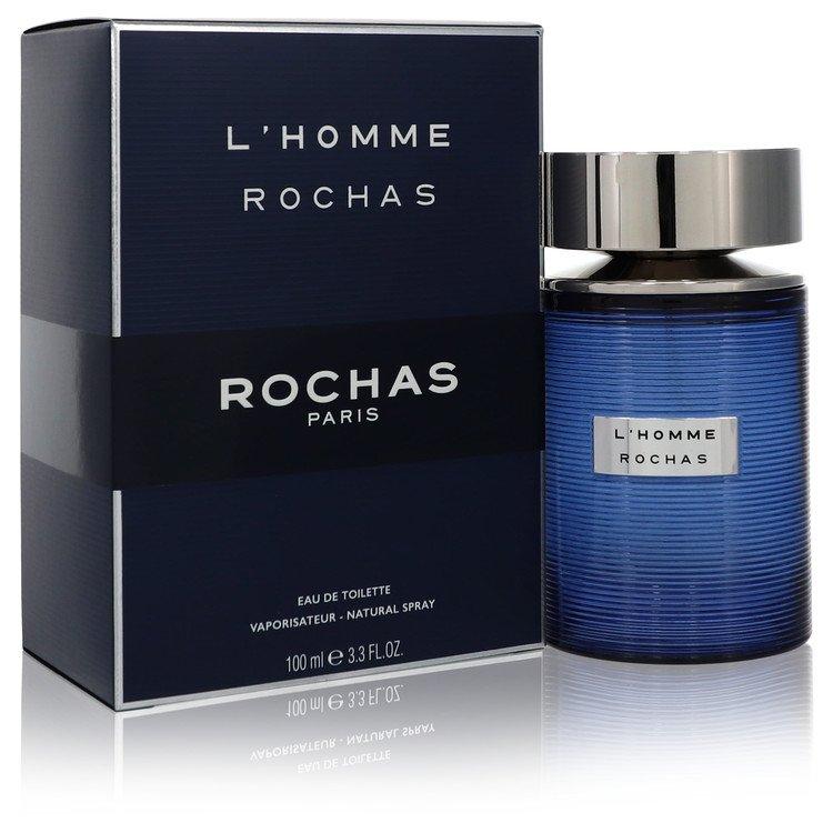 L'homme Rochas by Rochas –  Eau De Toilette Spray 3.3 oz 100 ml for Men