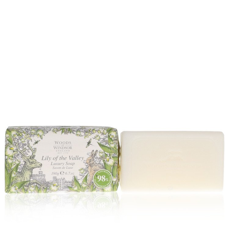 Lily of the Valley (Woods of Windsor) by Woods of Windsor –  Soap 6.7 oz 200 ml for Women
