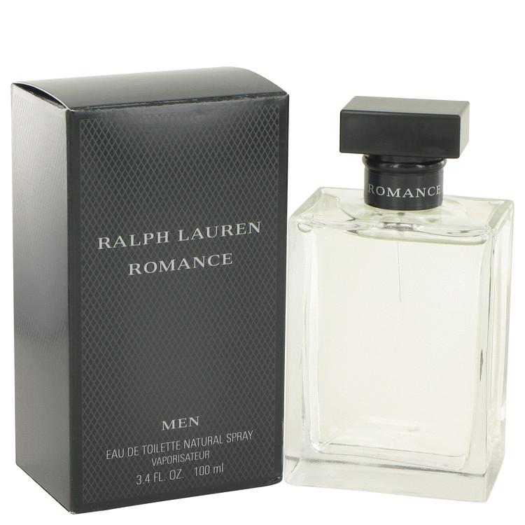 Romance Cologne by Ralph Lauren 100 ml Eau De Toilette Spray for Men