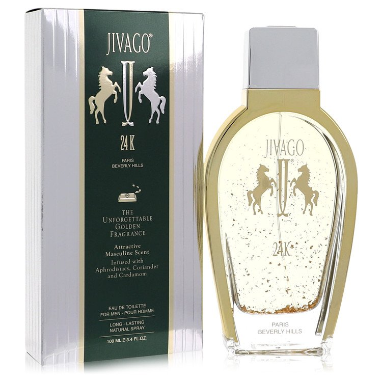 Jivago 24k Cologne by Ilana Jivago 100 ml EDT Spay for Men