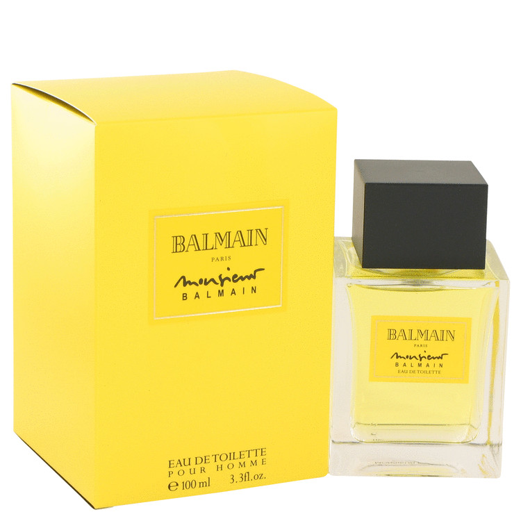 Monsieur Balmain Cologne by Pierre Balmain 3.3 oz EDT Spay for Men