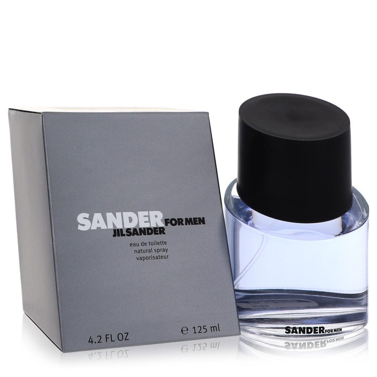 Sander Cologne by Jil Sander 125 ml Eau De Toilette Spray for Men