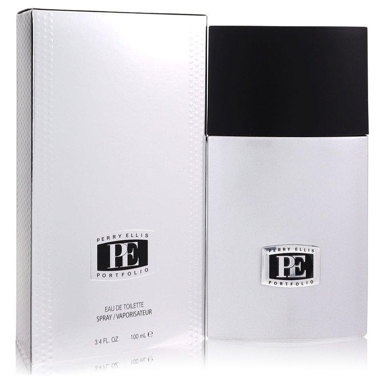 PORTFOLIO by Perry Ellis –  Eau De Toilette Spray 3.4 oz 100 ml for Men