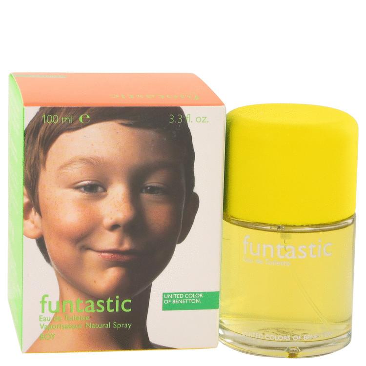 Funtastic Boy Cologne by Benetton 100 ml Eau De Toilette Spray for Men