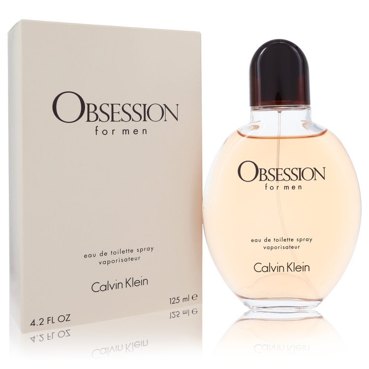 OBSESSION by Calvin Klein Eau De Toilette Spray 4 oz