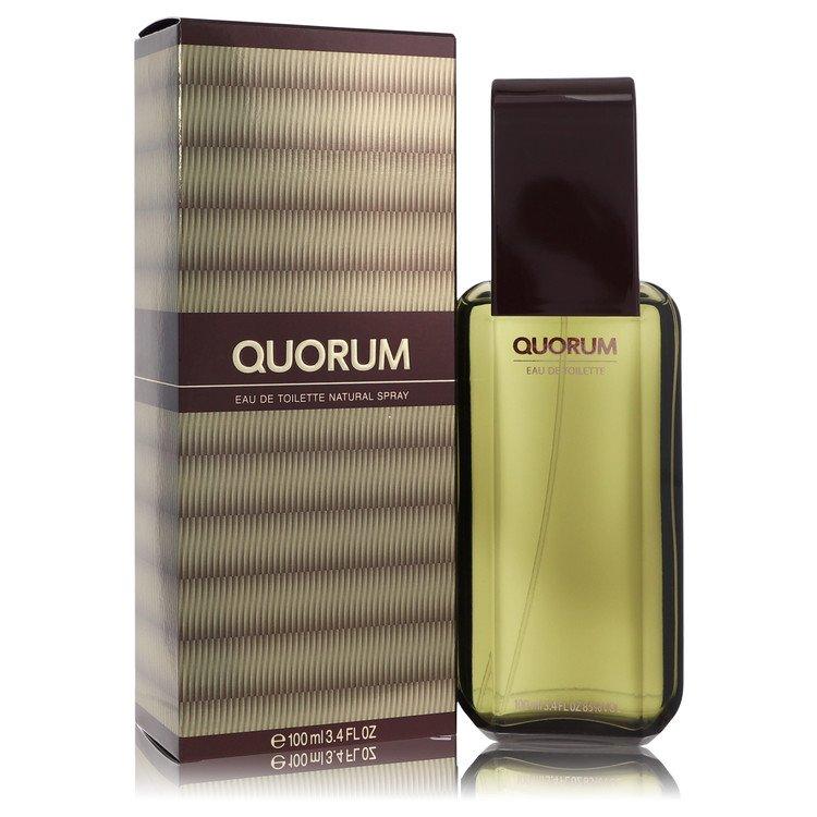 QUORUM by Antonio Puig for Men Eau De Toilette Spray 3.4 oz