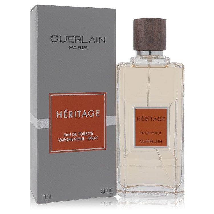 HERITAGE by Guerlain for Men Eau De Toilette Spray 3.4 oz