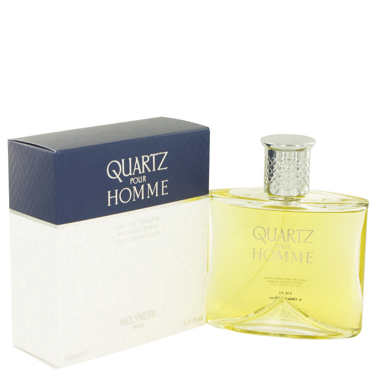 QUARTZ by Molyneux –  Eau De Toilette Spray 3.4 oz 100 ml for Men