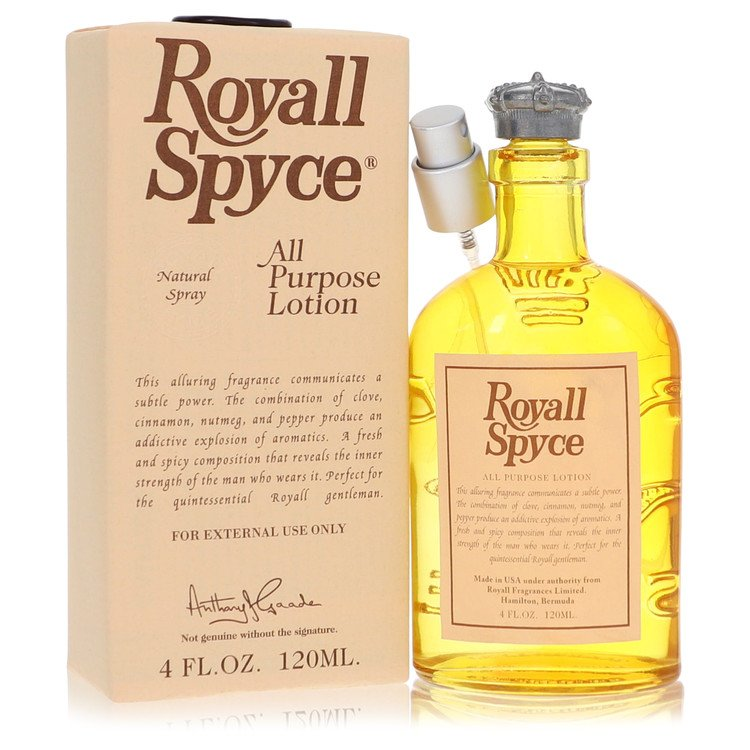 ROYALL SPYCE by Royall Fragrances for Men All Purpose Lotion / Cologne 4 oz