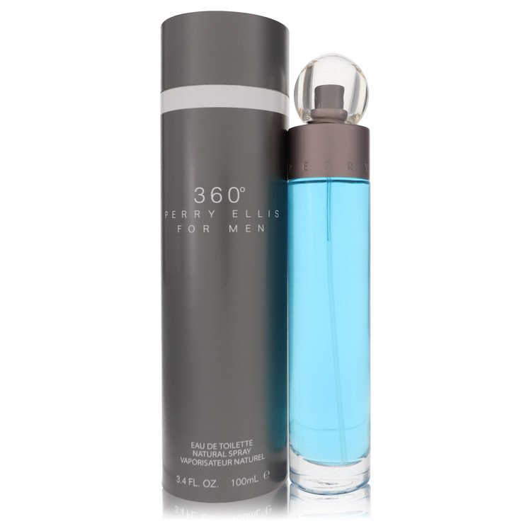 Perry Ellis 360 Cologne by Perry Ellis 100 ml EDT Spay for Men