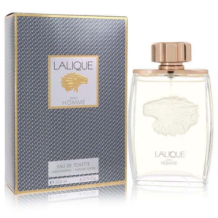 LALIQUE by Lalique for Men Eau De Toilette Spray (Lion) 4.2 oz