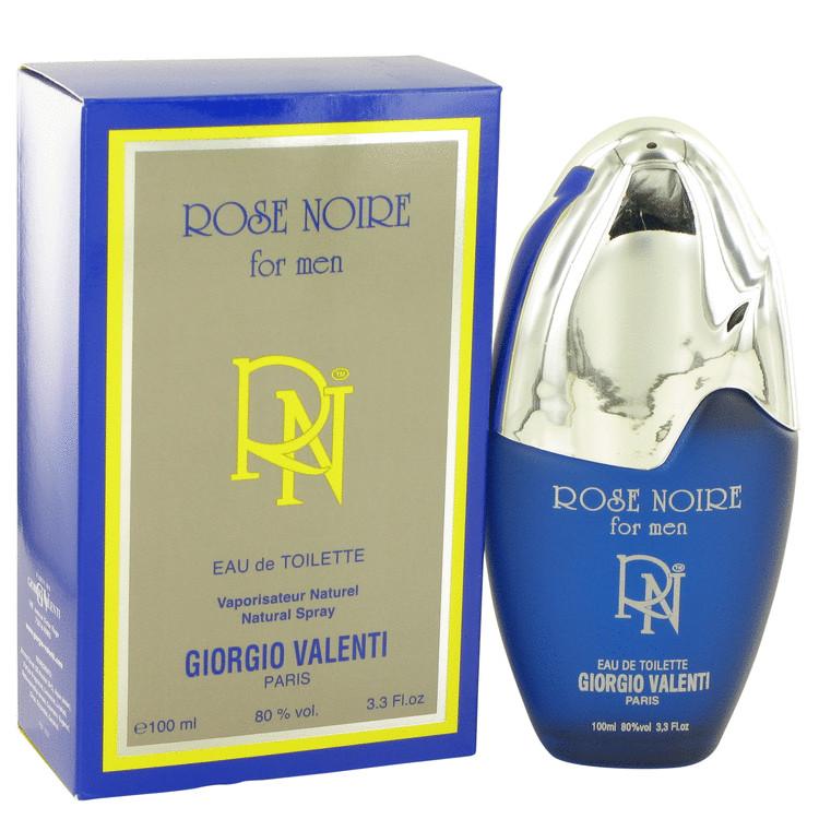ROSE NOIRE by Giorgio Valenti for Men Eau De Toilette Spray 3.4 oz