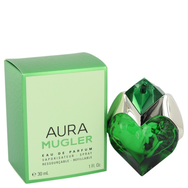 Mugler Aura Perfume 30 ml Eau De Parfum Spray Refillable for Women