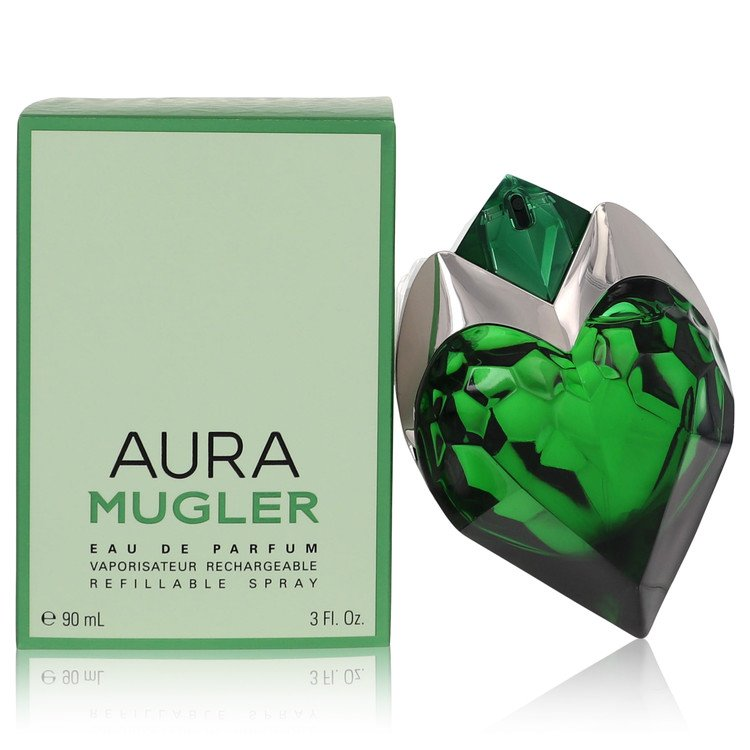 Mugler Aura Perfume 90 ml Eau De Parfum Spray Refillable for Women