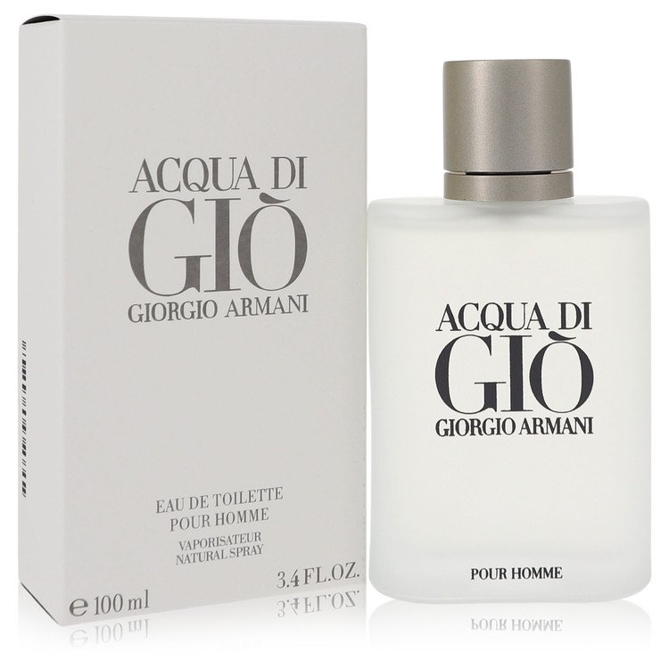 Acqua Di Gio by Giorgio Armani Men's Eau De Toilette Spray 3.3 oz