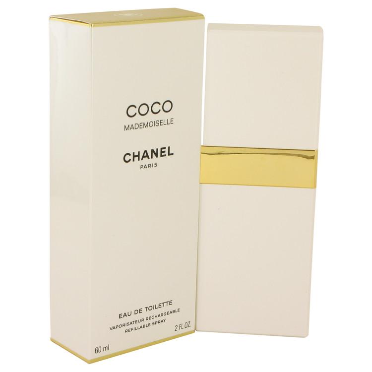 Coco Mademoiselle Perfume 2 oz EDT Spray Refillable for Women
