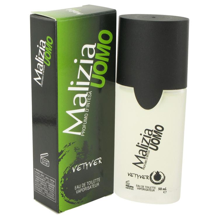 Malizia Uomo by Vetyver for Men Eau De Toilette Spray 1.7 oz