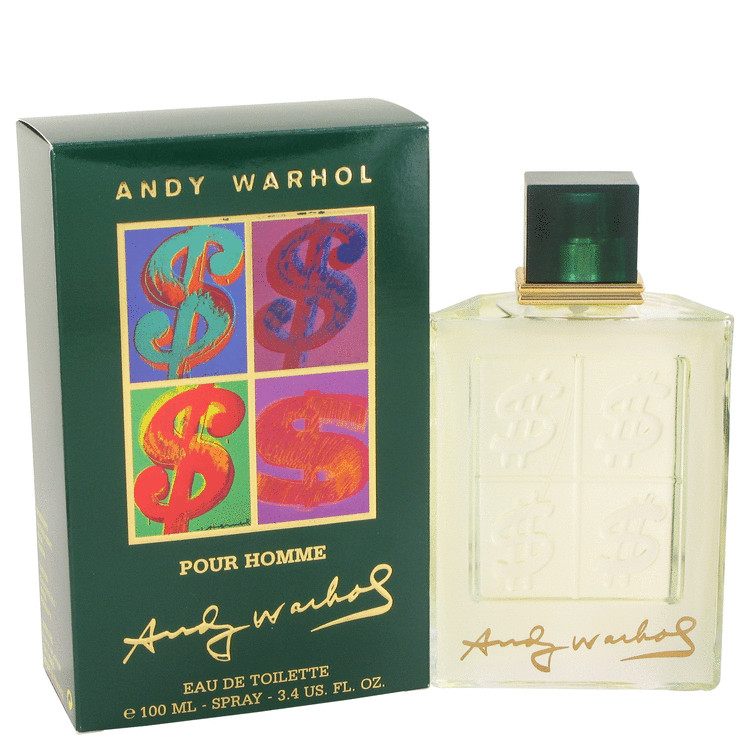Andy Warhol Cologne by Andy Warhol 100 ml EDT Spay for Men