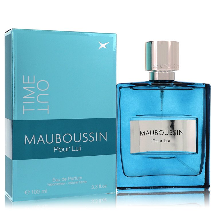 Mauboussin Pour Lui Time Out Cologne 100 ml EDP Spay for Men