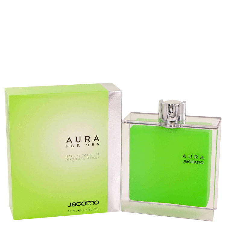 AURA by Jacomo for Men Eau De Toilette Spray 2.4 oz