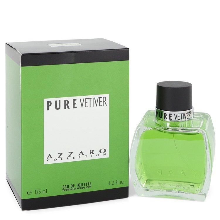 Azzaro Pure Vetiver Cologne by Azzaro 4.2 oz EDT Spay for Men Spray