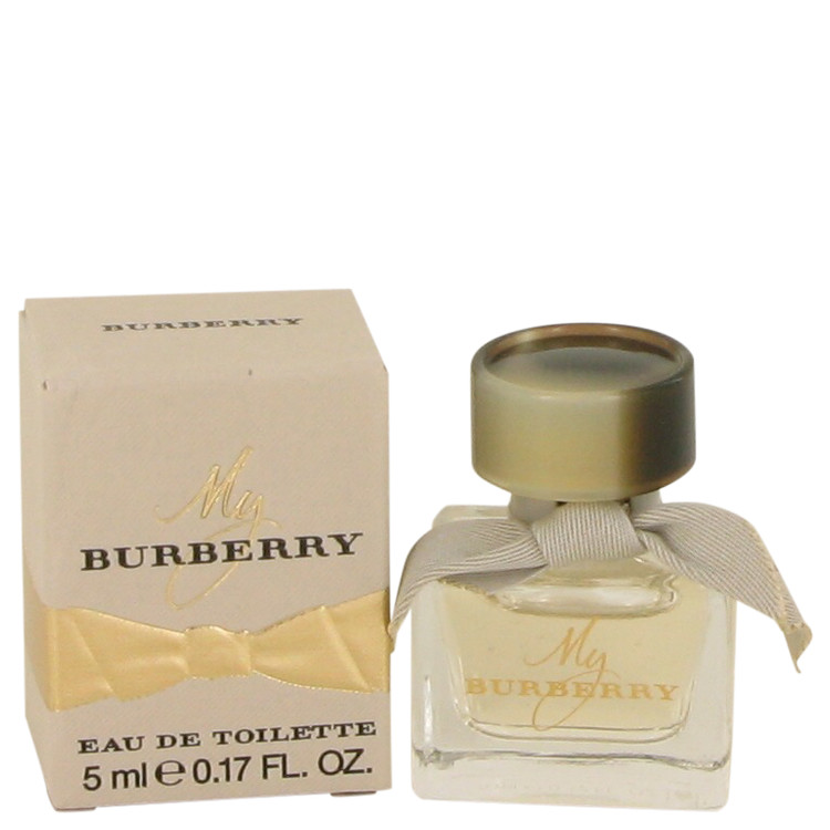 My Burberry by Burberry –  Mini EDT .17 oz 5 ml for Women