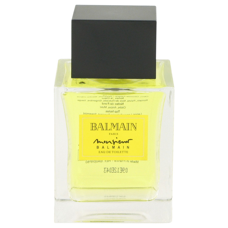 Monsieur Balmain Cologne 100 ml EDT Spray(Tester) for Men