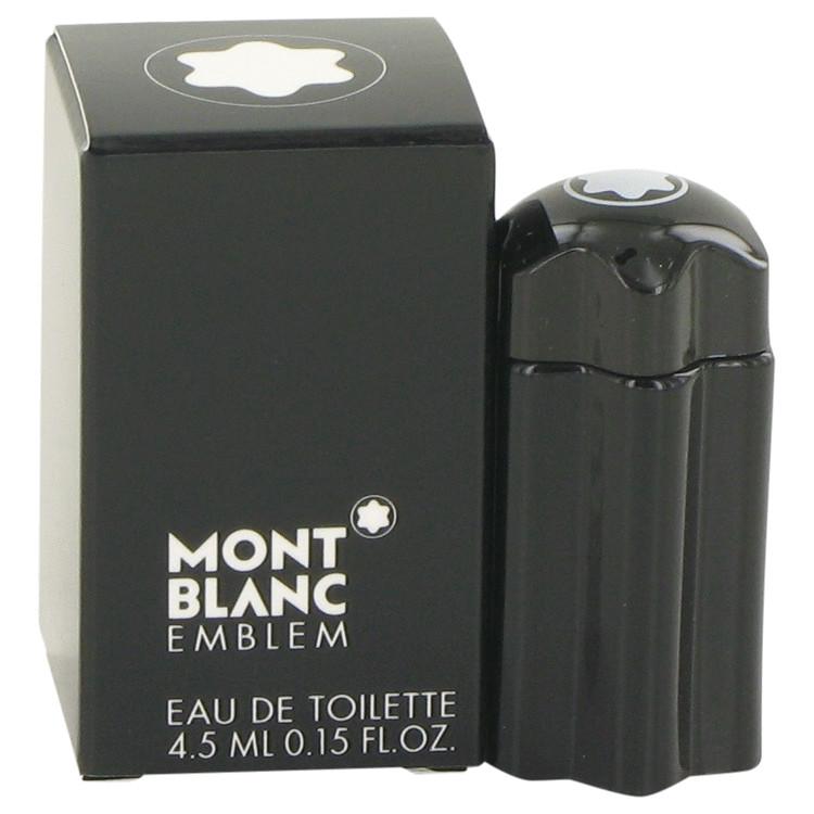 Montblanc Emblem by Mont Blanc –  Mini EDT .15 oz 4 ml for Men