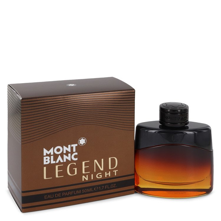 Montblanc Legend Night Cologne by Mont Blanc 50 ml EDP Spay for Men