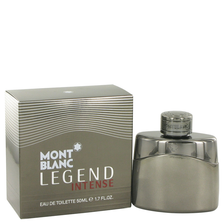 Montblanc Legend Intense Cologne by Mont Blanc 50 ml EDT Spay for Men